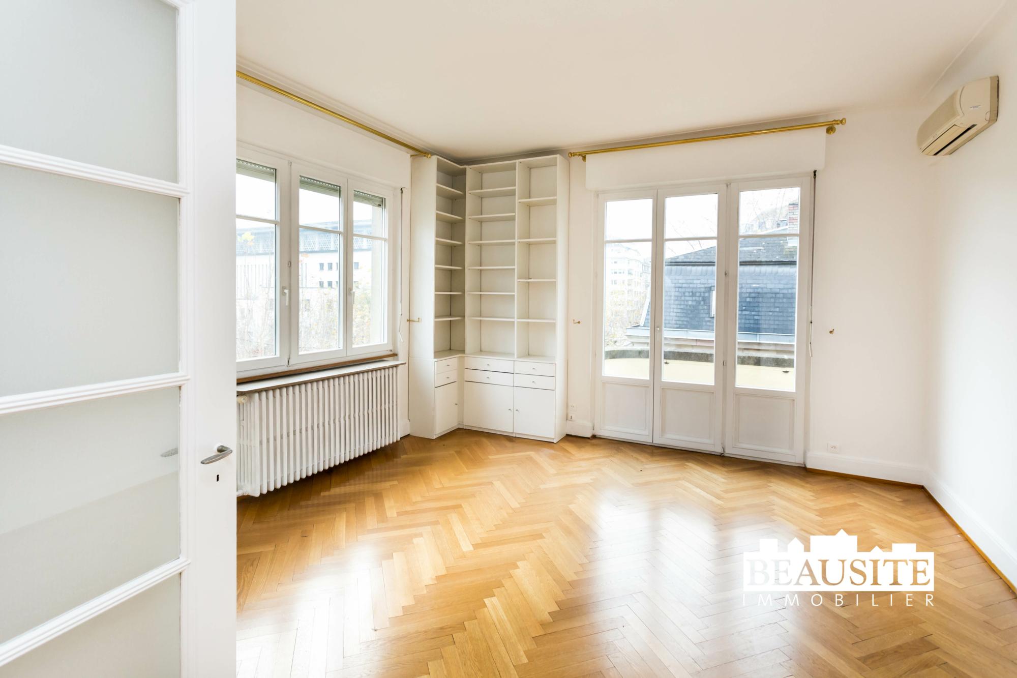 [Gloria] Un magnifique appartement bourgeois avec garage - Contades / Avenue de la Paix - nos ventes - Beausite Immobilier 6