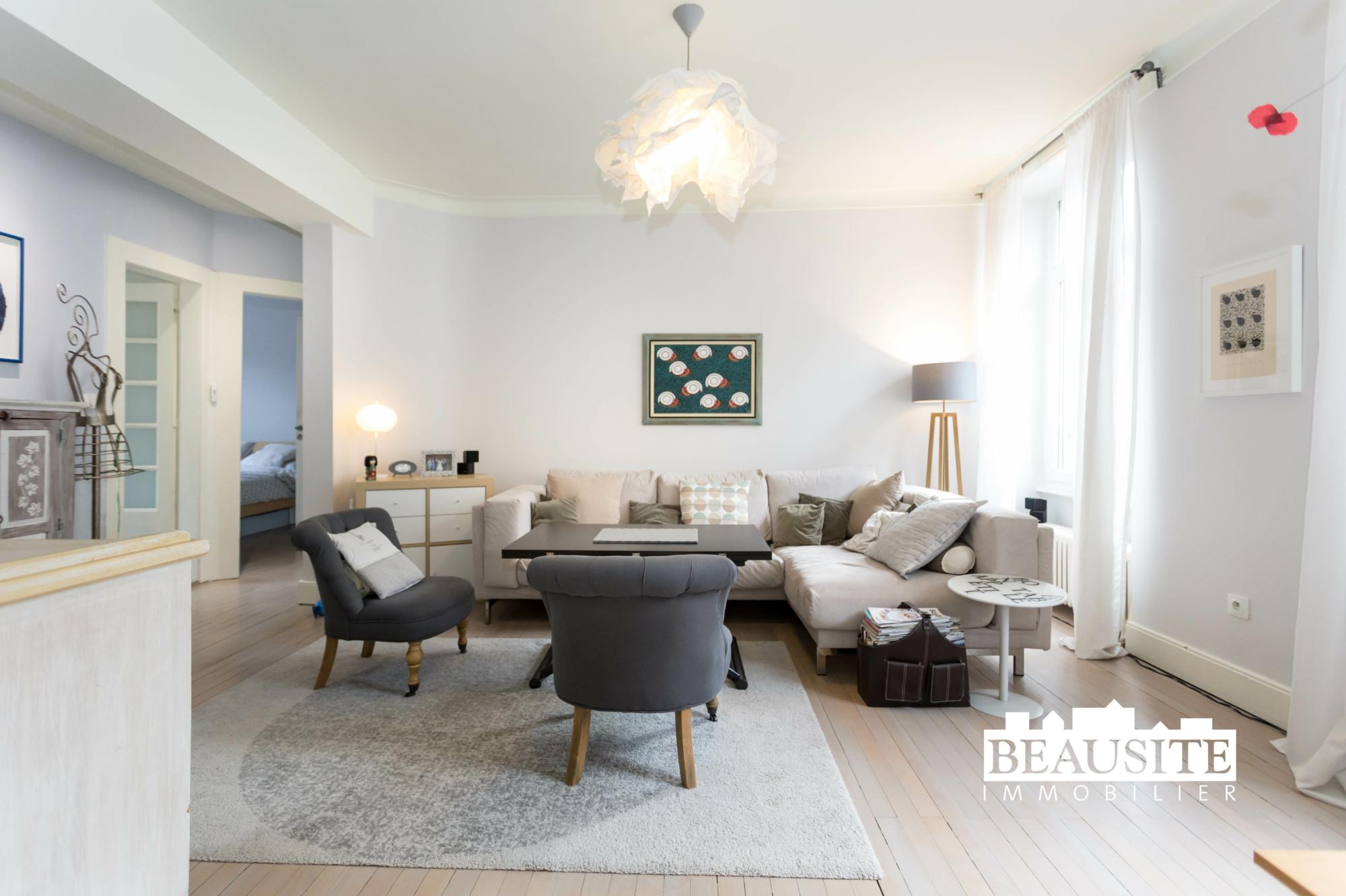 [La bulle] Un appartement cosy au cœur de Strasbourg - Halles / rue du Marché - nos ventes - Beausite Immobilier 2