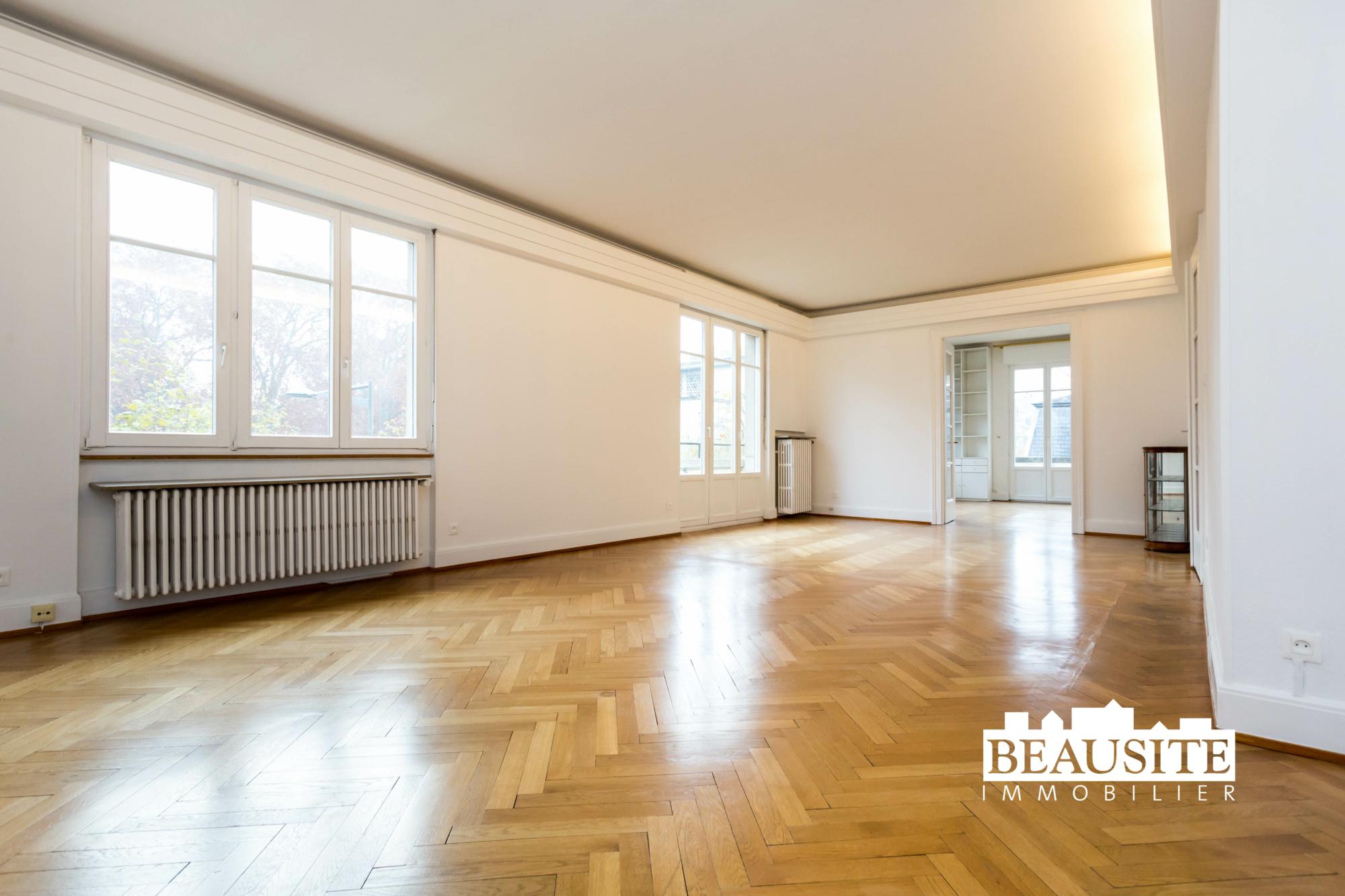 [Gloria] Un magnifique appartement bourgeois avec garage - Contades / Avenue de la Paix - nos ventes - Beausite Immobilier 1