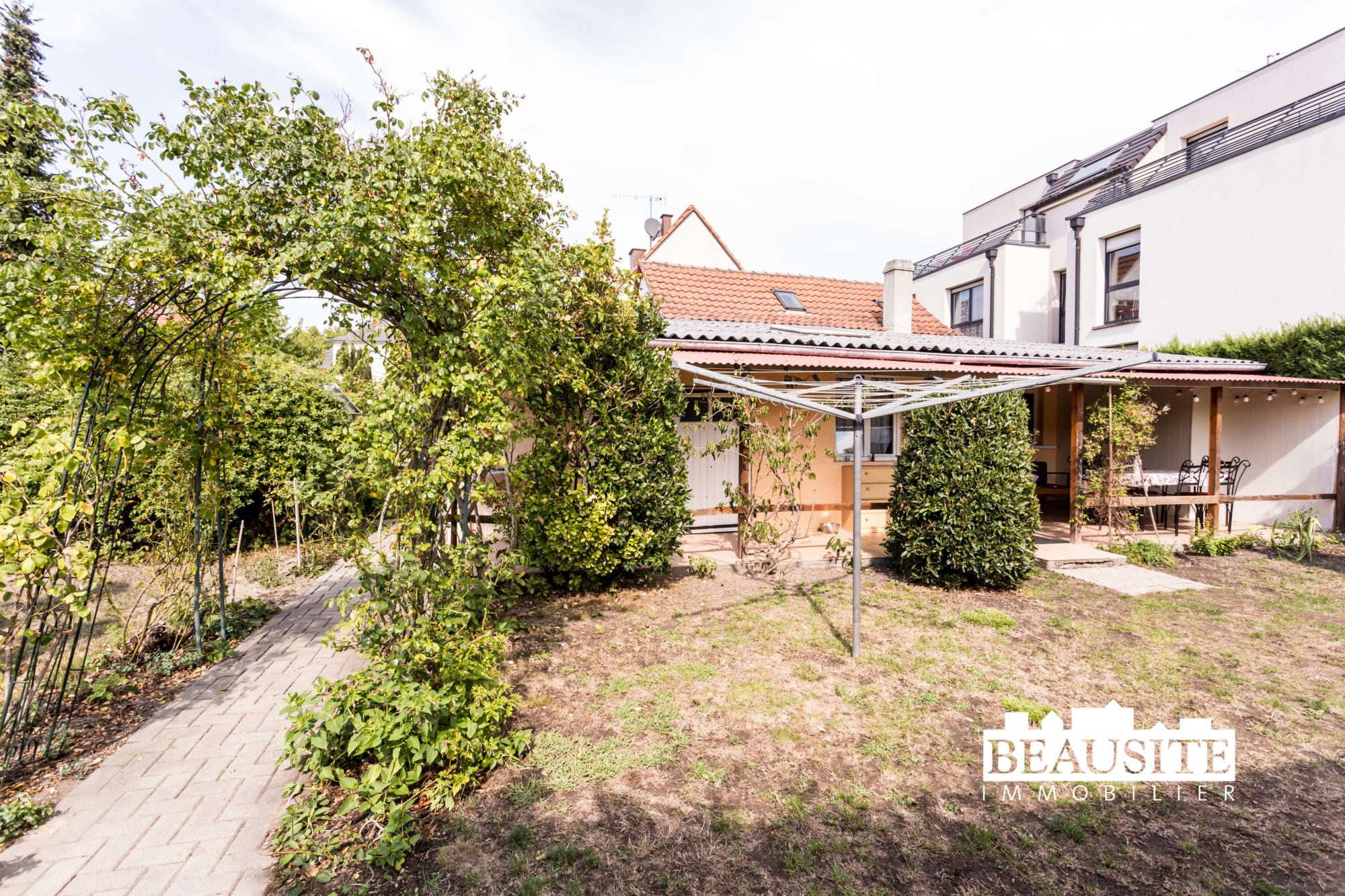 [César] Charmante maison avec piscine sur 16 ares - Robertsau centre - nos ventes - Beausite Immobilier 14