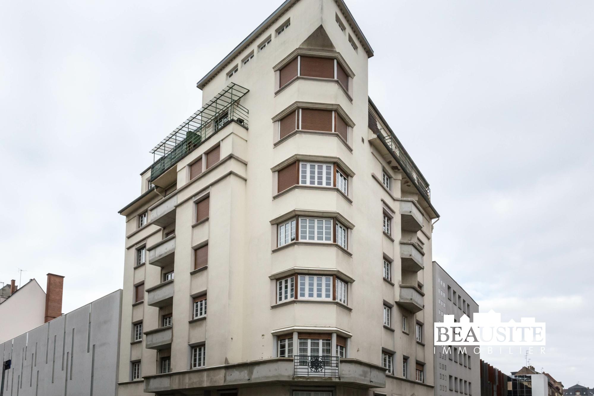 [Paquebot] Accostez dans un appartement à la vue sur la Cathédrale - Halles / rue de Bouxwiller - nos ventes - Beausite Immobilier 1