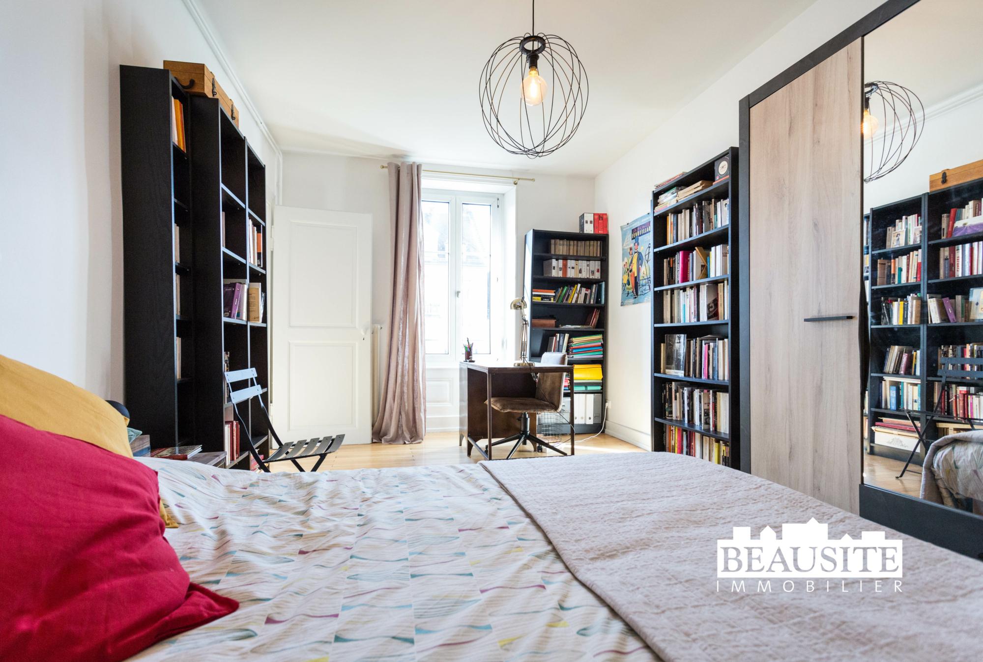 [Sobremesa] L'appartement 5 pièces chaleureux et convivial - Strasbourg / Boulevard du Président Poincaré - nos ventes - Beausite Immobilier 12