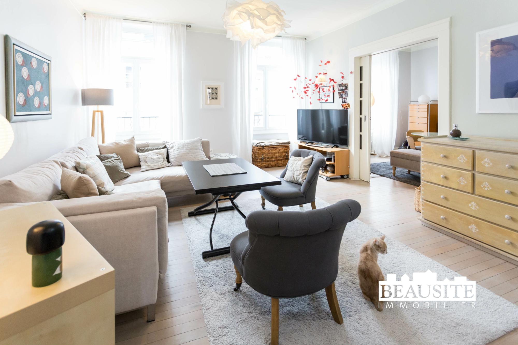 [La bulle] Un appartement cosy au cœur de Strasbourg - Halles / rue du Marché - nos ventes - Beausite Immobilier 1