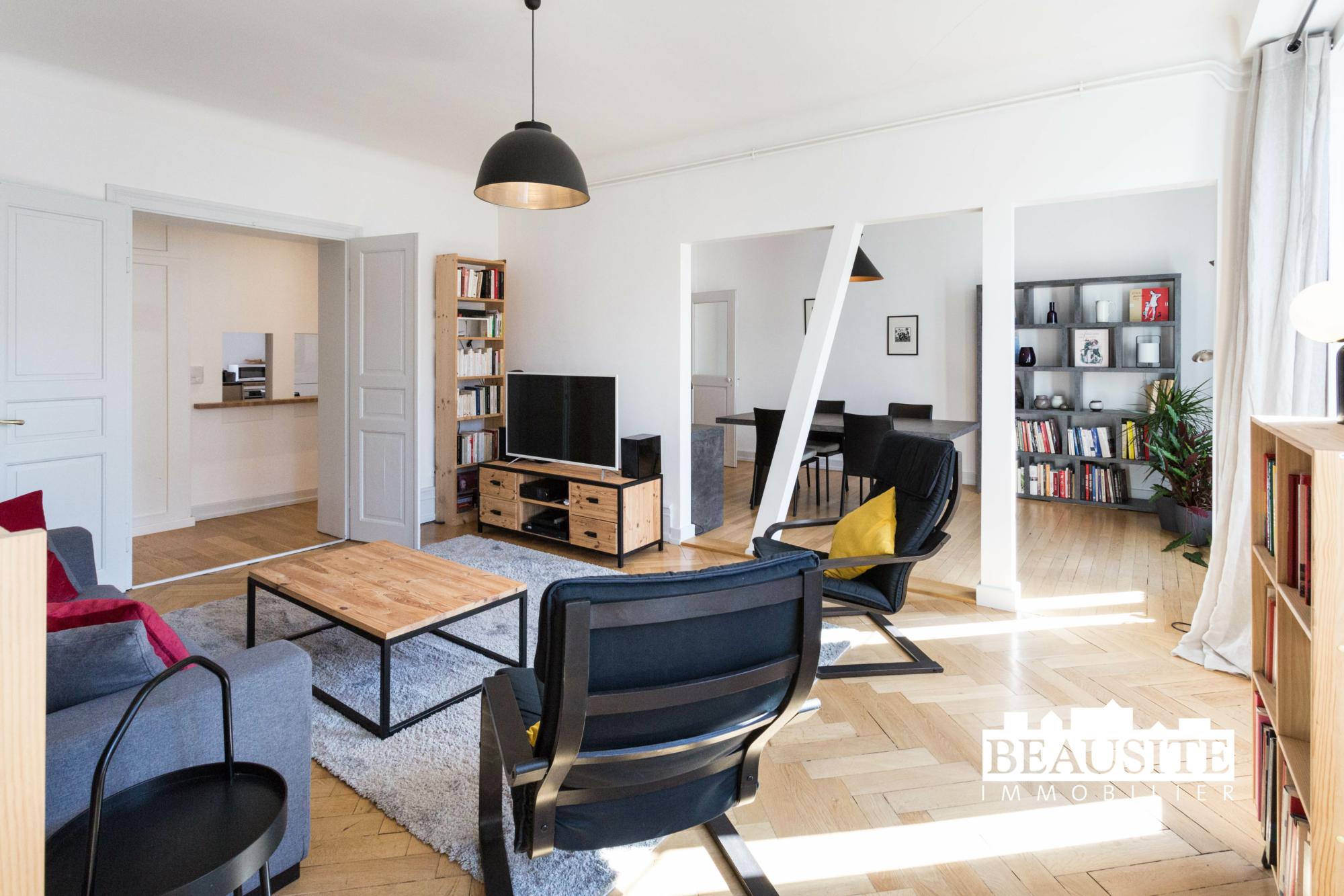 [Sobremesa] L'appartement 5 pièces chaleureux et convivial - Strasbourg / Boulevard du Président Poincaré - nos ventes - Beausite Immobilier 4
