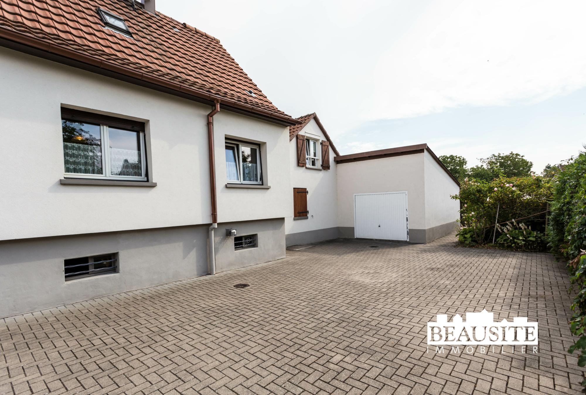 [César] Charmante maison avec piscine sur 16 ares - Robertsau centre - nos ventes - Beausite Immobilier 16