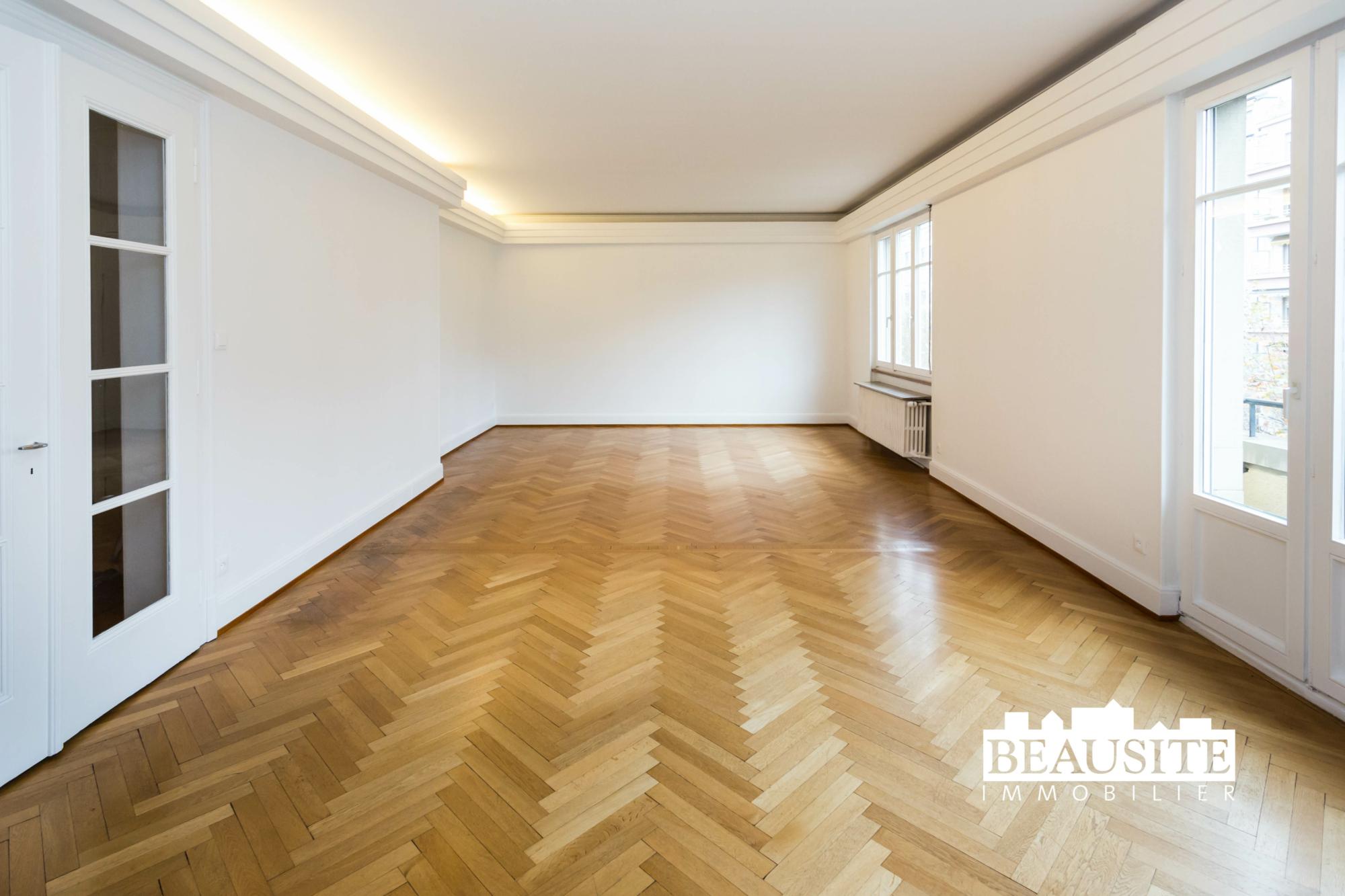 [Gloria] Un magnifique appartement bourgeois avec garage - Contades / Avenue de la Paix - nos ventes - Beausite Immobilier 4