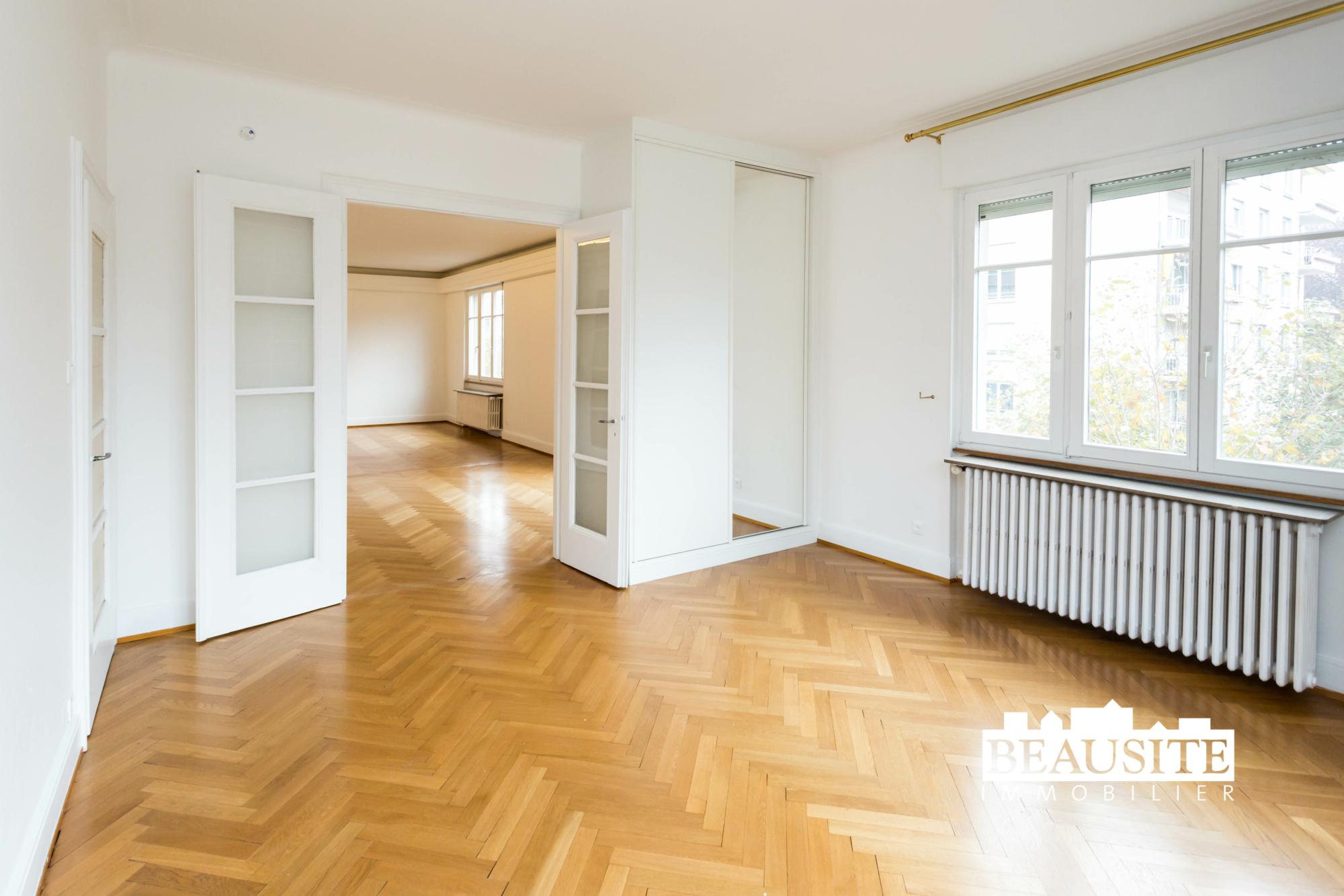 [Gloria] Un magnifique appartement bourgeois avec garage - Contades / Avenue de la Paix - nos ventes - Beausite Immobilier 5
