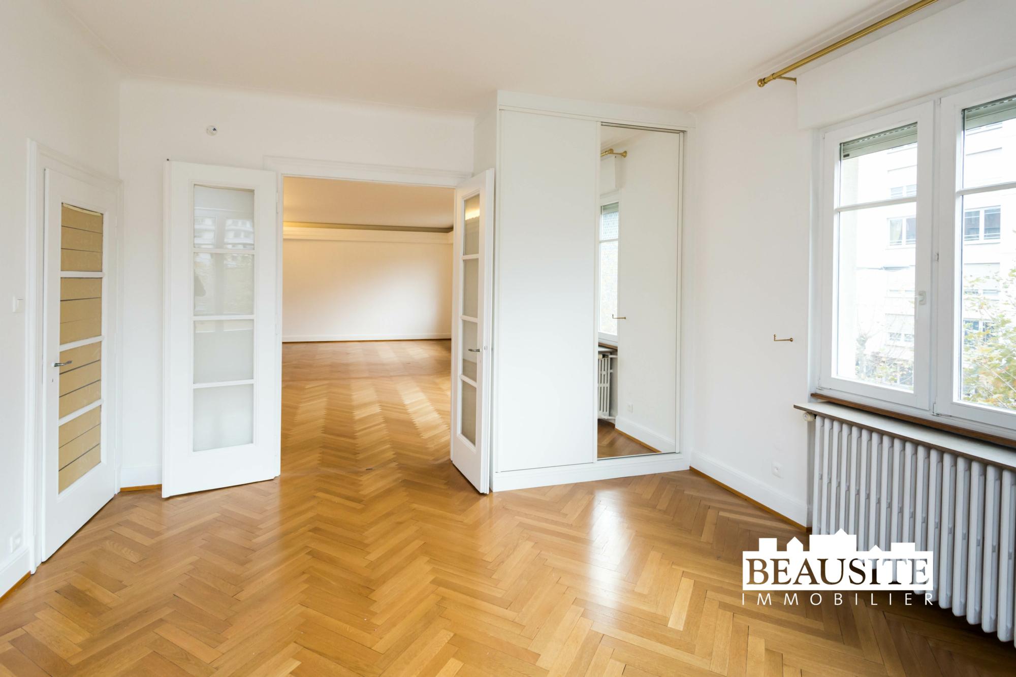 [Gloria] Un magnifique appartement bourgeois avec garage - Contades / Avenue de la Paix - nos ventes - Beausite Immobilier 8