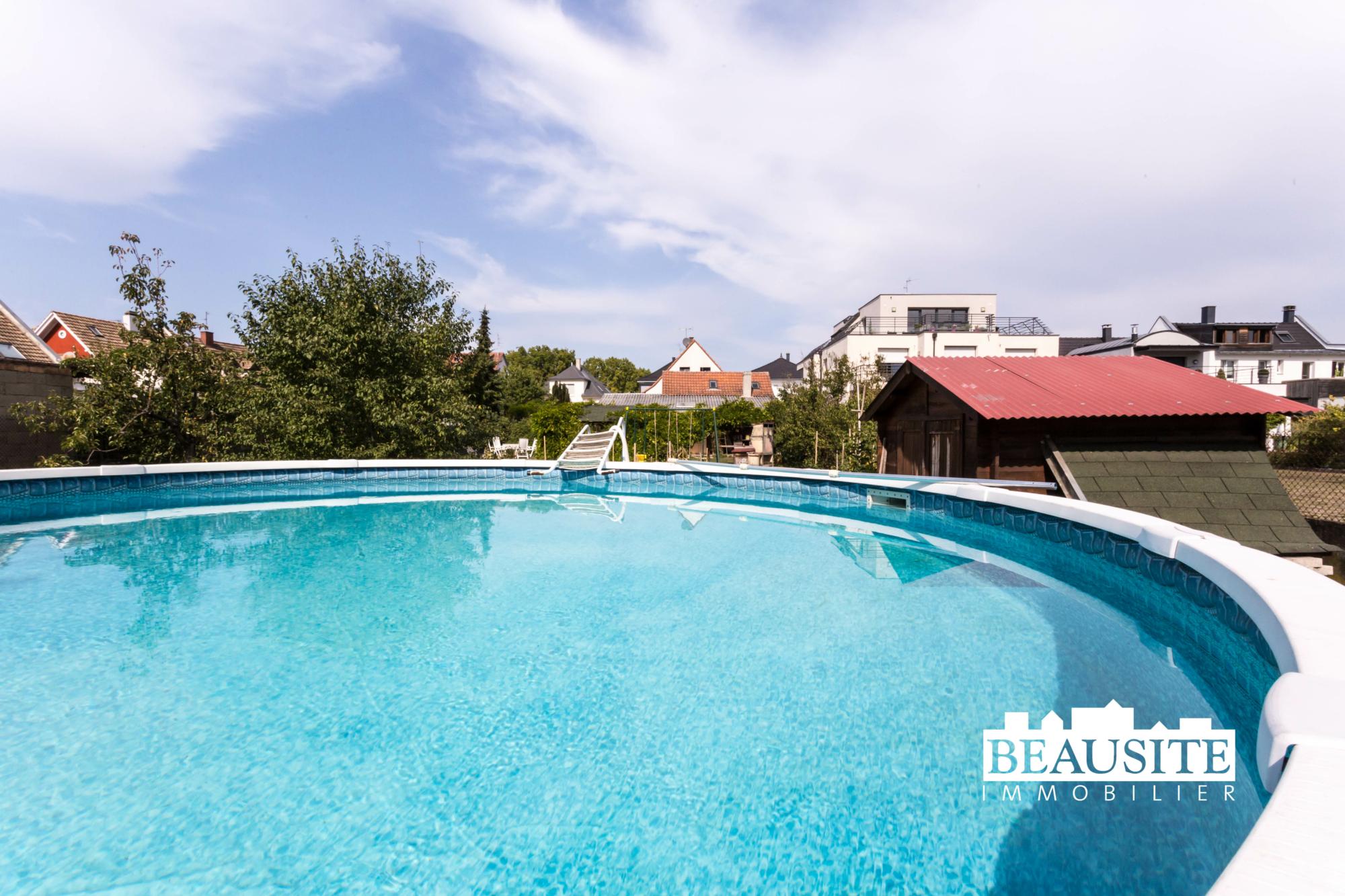 [César] Charmante maison avec piscine sur 16 ares - Robertsau centre - nos ventes - Beausite Immobilier 1