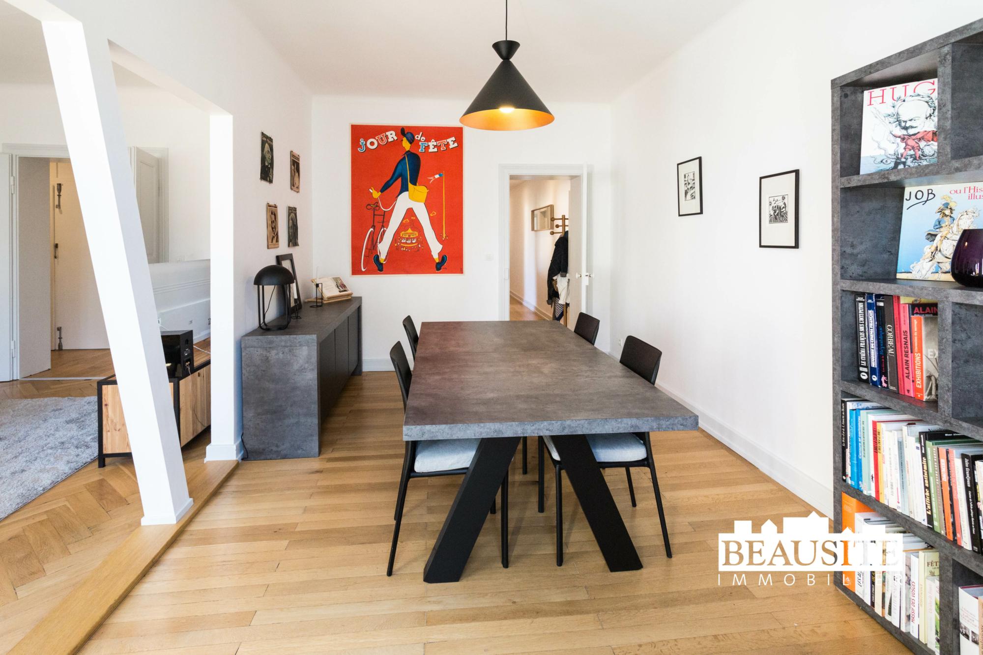 [Sobremesa] L'appartement 5 pièces chaleureux et convivial - Strasbourg / Boulevard du Président Poincaré - nos ventes - Beausite Immobilier 2