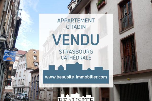 Lumineux 3/4 pièces avec balcons et parking - Cathédrale / rue des Veaux