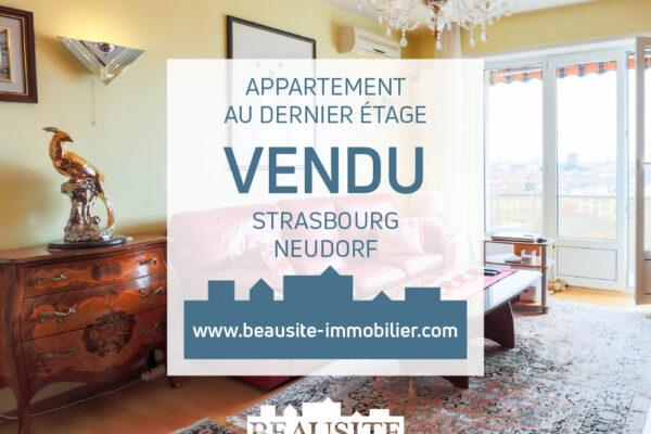 [Zénith] Spacieux 2 pièces au dernier étage - Neudorf / près de l'Avenue Jean Jaurès
