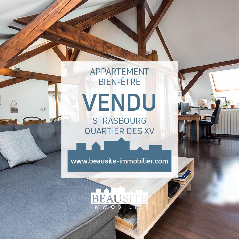 VENDU [Hygge] Magnifique 4 pièces avec jardin d'hiver - Rue de l'Yser - nos ventes - Beausite Immobilier 1
