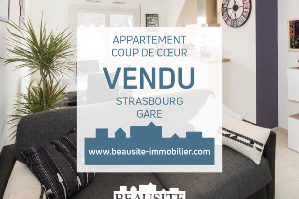 [Casual] Un appartement avec balcon et parking - Musée d'Art moderne / rue de Wasselonne