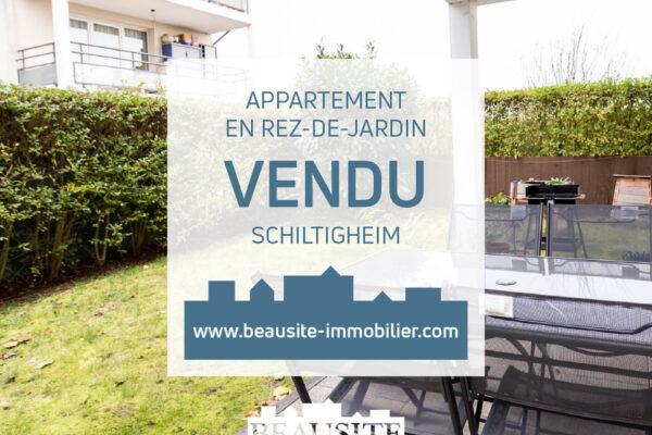 [Lily] Un verdoyant 2 pièces avec jardin privatif et parking – Schiltigheim