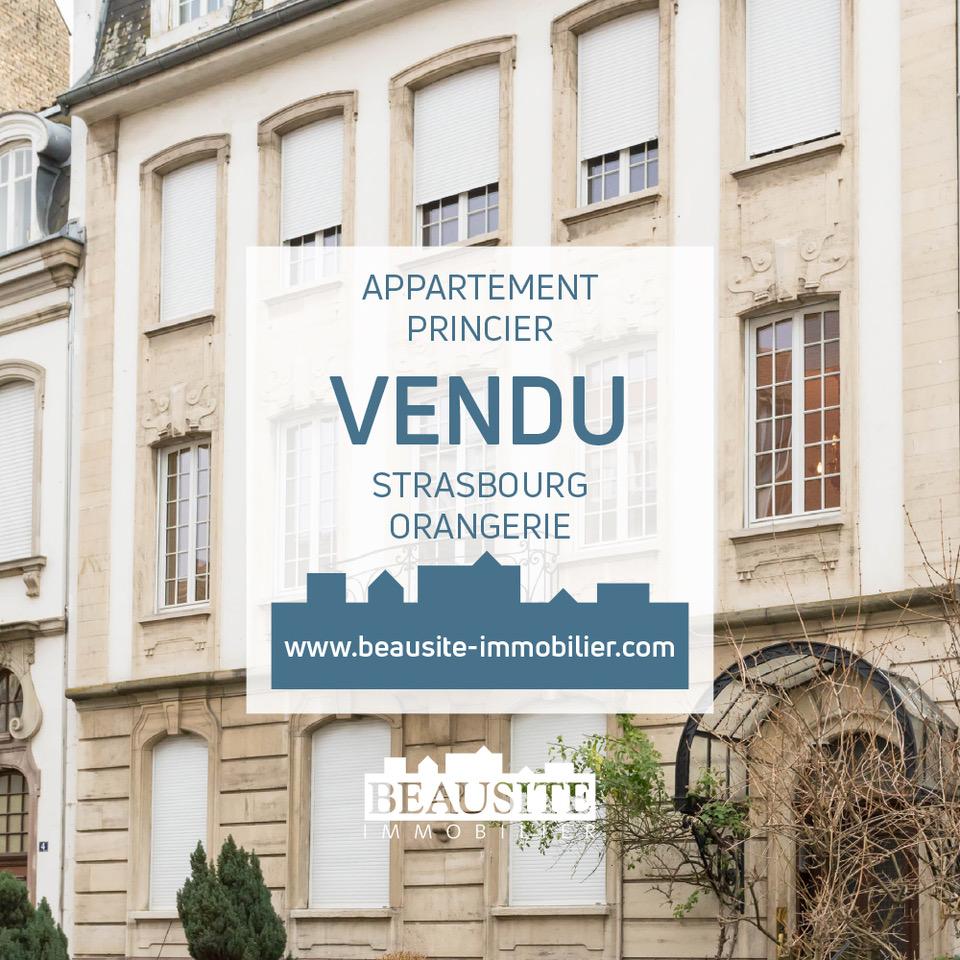 [Le Prince] Un appartement princier à l'Orangerie - Rue de Reims - nos ventes - Beausite Immobilier 1