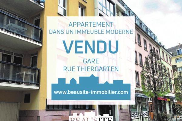 [L'Orient-Express] Un appartement de standing avec une terrasse et un parking - place de la Gare / rue Thiergarten