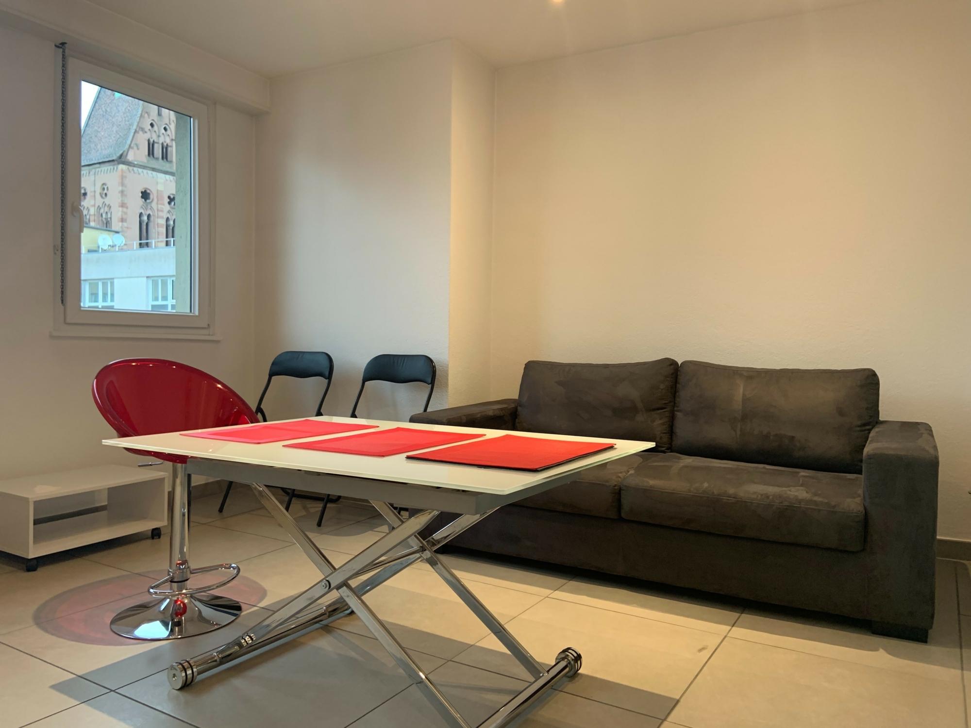 2 pièces meublé en parfait état - Strasbourg Broglie / rue Thomann - nos locations - Beausite Immobilier 1