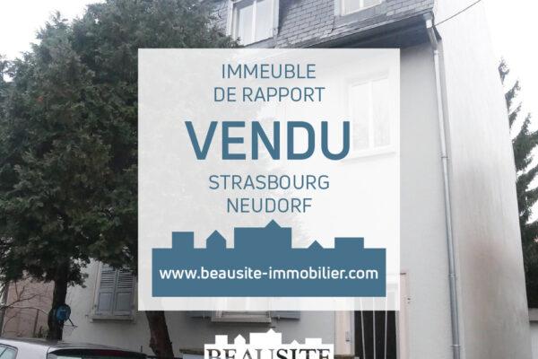 VENDU [Champêtre] Immeuble de rapport - Neudorf Est