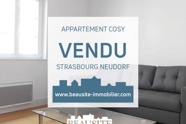 VENDU - Très beau 2P - début Neudorf