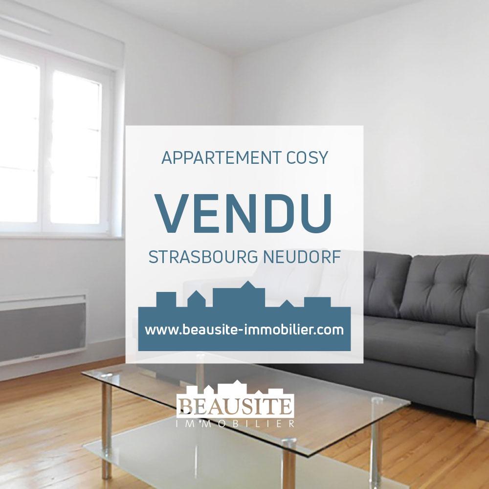 VENDU - Très beau 2P - début Neudorf - nos ventes - Beausite Immobilier 1