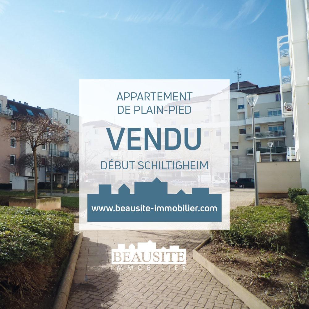 Vendu ! Superbe 2P - début Schiltigheim - nos ventes - Beausite Immobilier 1