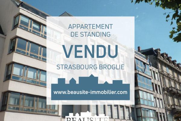 VENDU Lumineux 2P - Strasbourg Centre