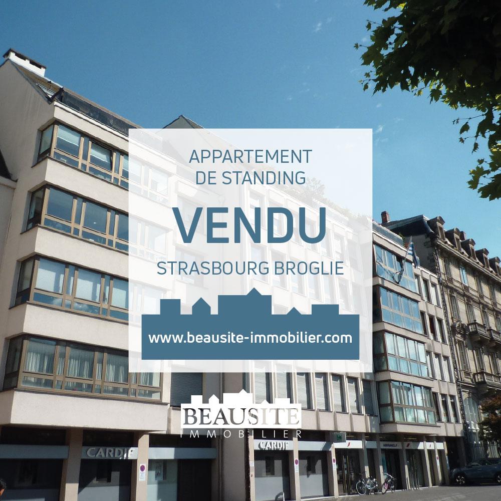 VENDU Lumineux 2P - Strasbourg Centre - nos ventes - Beausite Immobilier 1