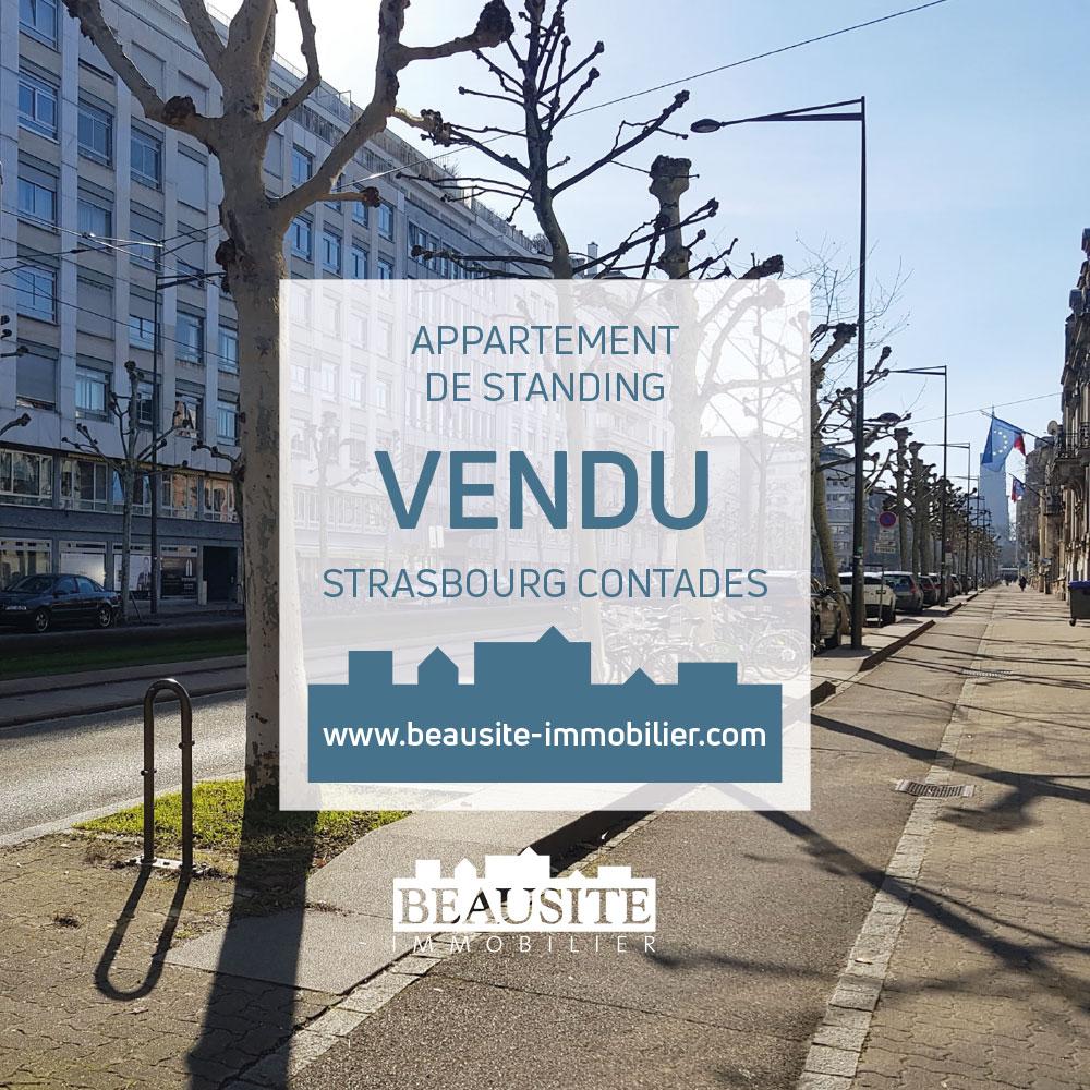 VENDU ! Rare à la vente - Très beau 2/3P Avenue de la Paix - nos ventes - Beausite Immobilier 1