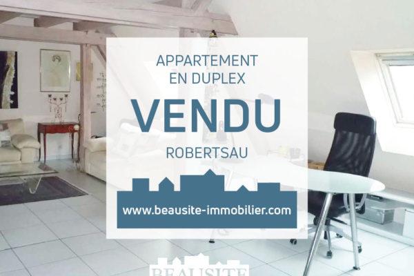VENDU Charmant 2P en duplex - Robertsau Maraîchers