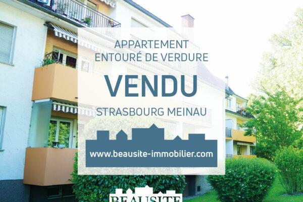 VENDU - Charmant 2P avec balcon - Meinau / rue du Rhin Tortu