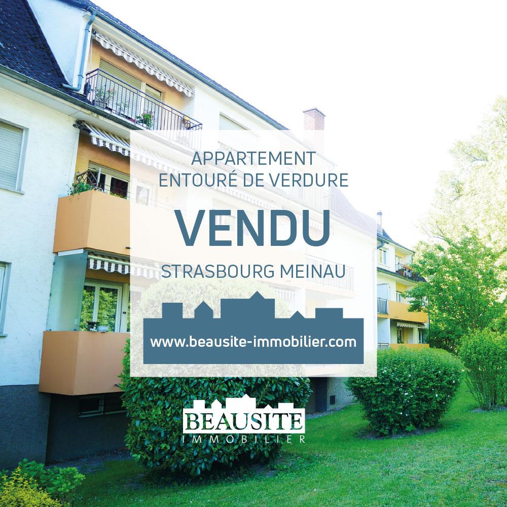 Charmant 2P avec balcon - Meinau / rue du Rhin Tortu - nos ventes - Beausite Immobilier 1