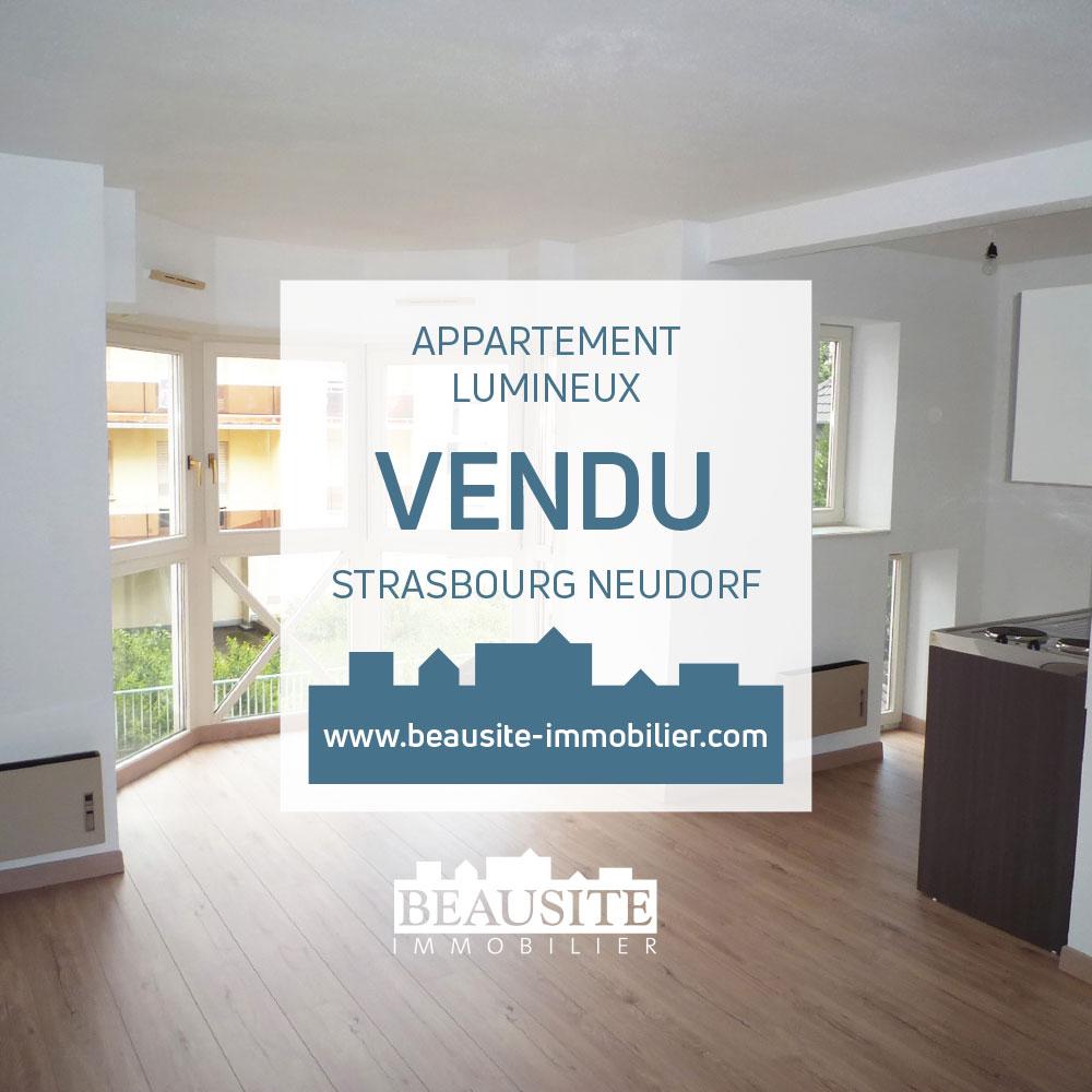 Lumineux 2P - Neudorf - nos ventes - Beausite Immobilier 1