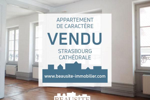 VENDU ! Lumineux 3P - Cathédrale / Carré d'Or