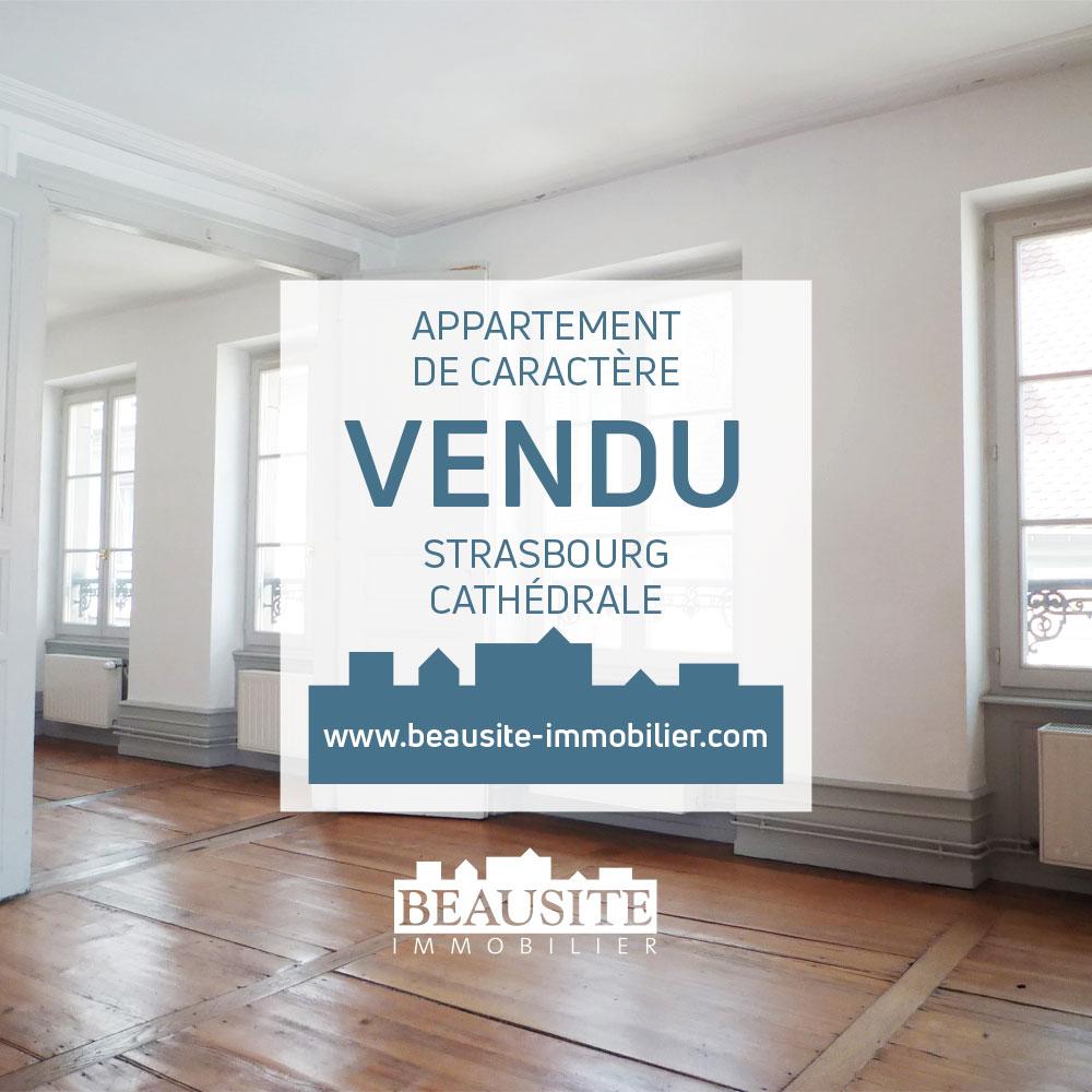 VENDU ! Lumineux 3P - Cathédrale / Carré d'Or - nos ventes - Beausite Immobilier 1