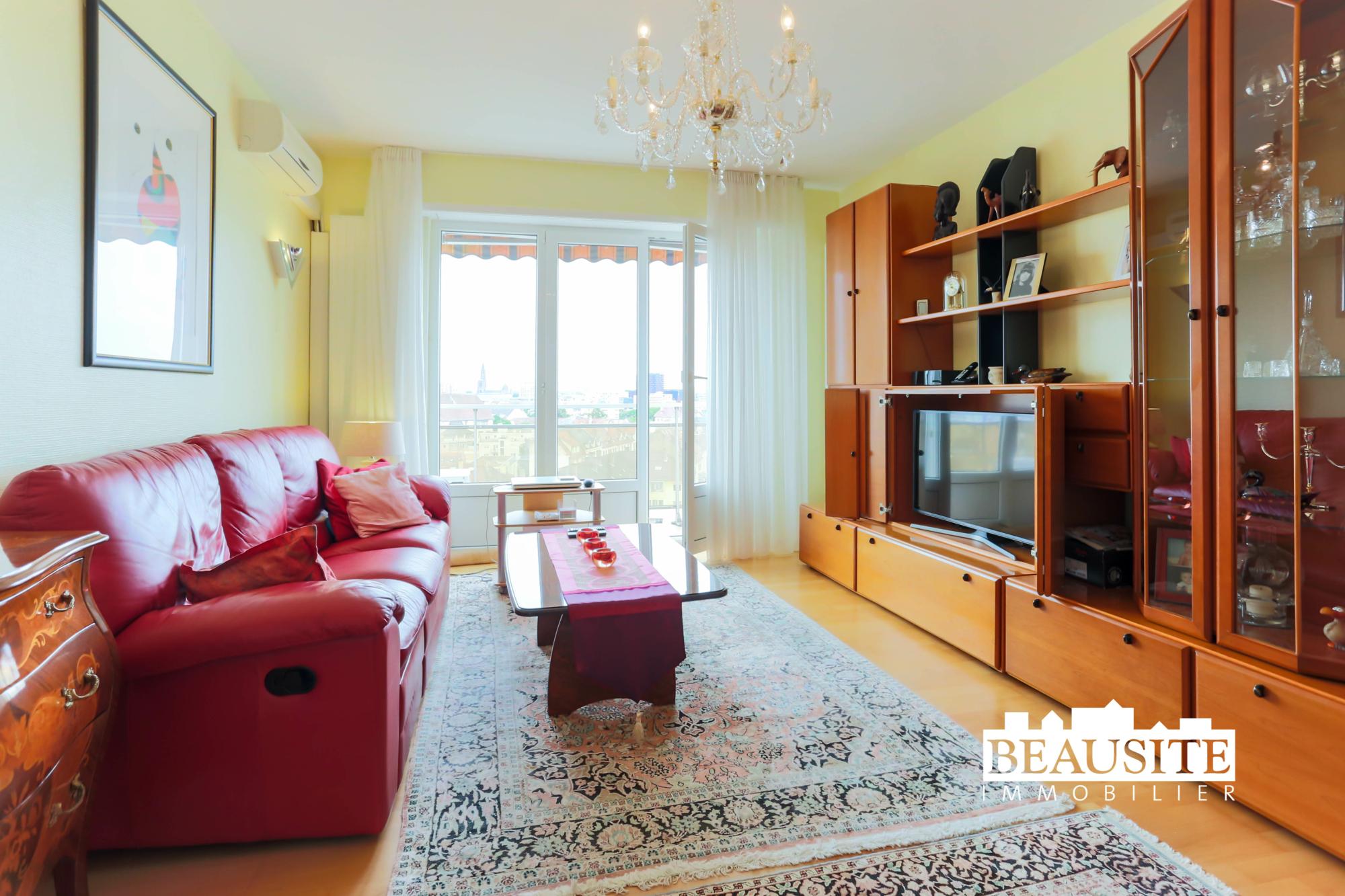 [Zénith] Spacieux 2 pièces au dernier étage - Neudorf / près de l'Avenue Jean Jaurès - nos ventes - Beausite Immobilier 2