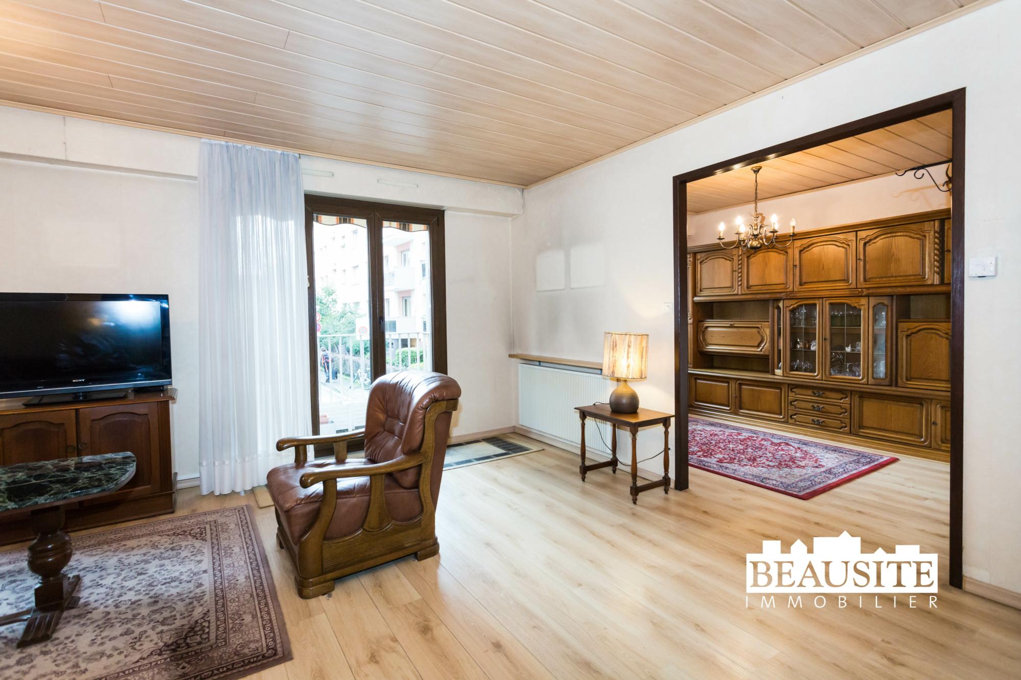 [Tonton] Un appartement familial avec balcon et garage - Neudorf / rue Saint-Amarin - nos ventes - Beausite Immobilier 2