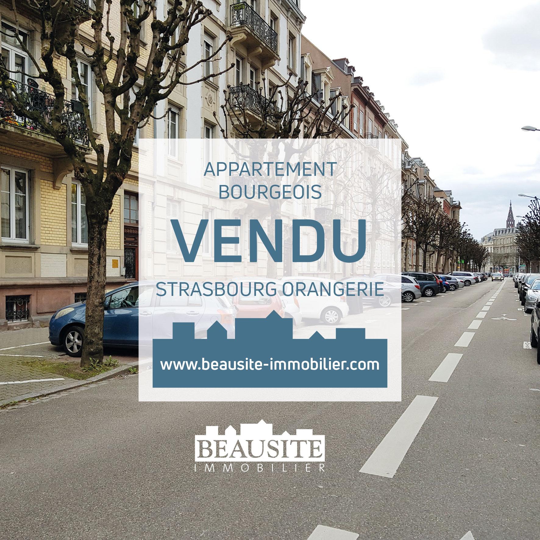 VENDU Magnifique 7-8P - Strasbourg Golbery - nos ventes - Beausite Immobilier 1