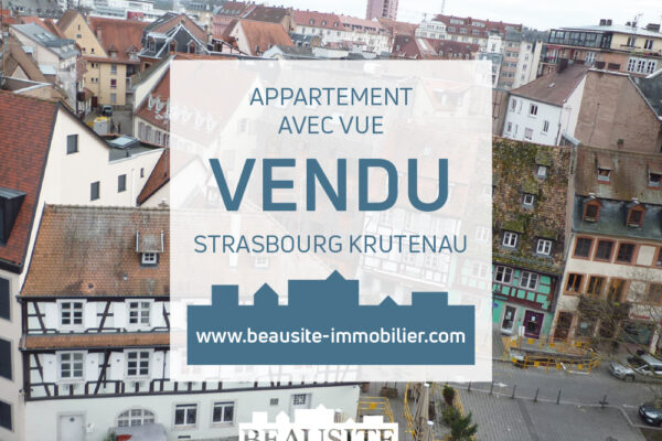 Splendide 2 pièces refait à neuf avec balcon - Krutenau / place de Zurich