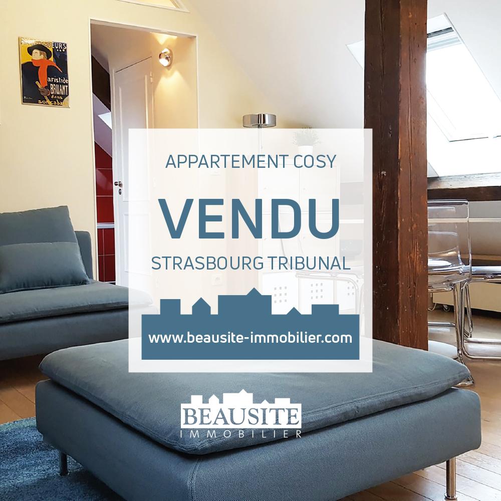 VENDU - Charmant 3P - Strasbourg Tribunal - nos ventes - Beausite Immobilier 1