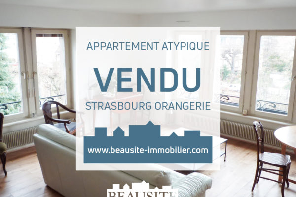 VENDU ! Superbe appartement 5/6P en duplex - Quai Rouget de Lisle