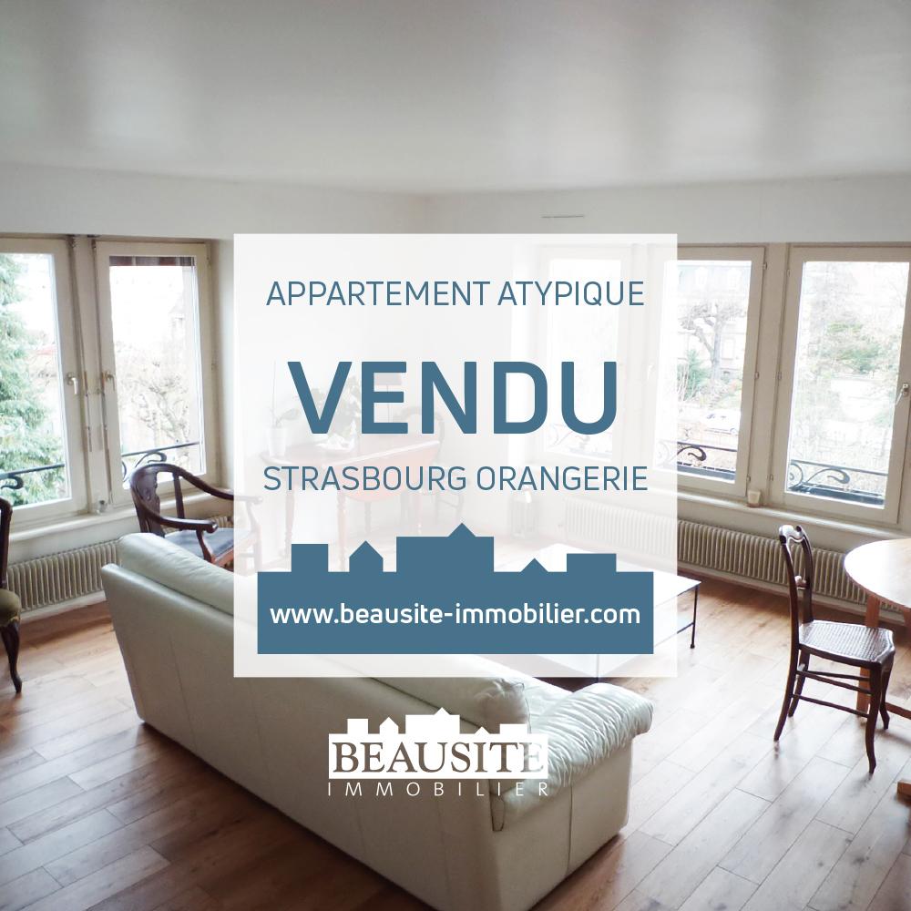 VENDU ! Superbe appartement 5/6P en duplex - Quai Rouget de Lisle - nos ventes - Beausite Immobilier 1