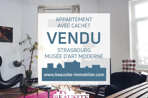 VENDU Spacieux 4P avec balcons - Musée d'Art Moderne