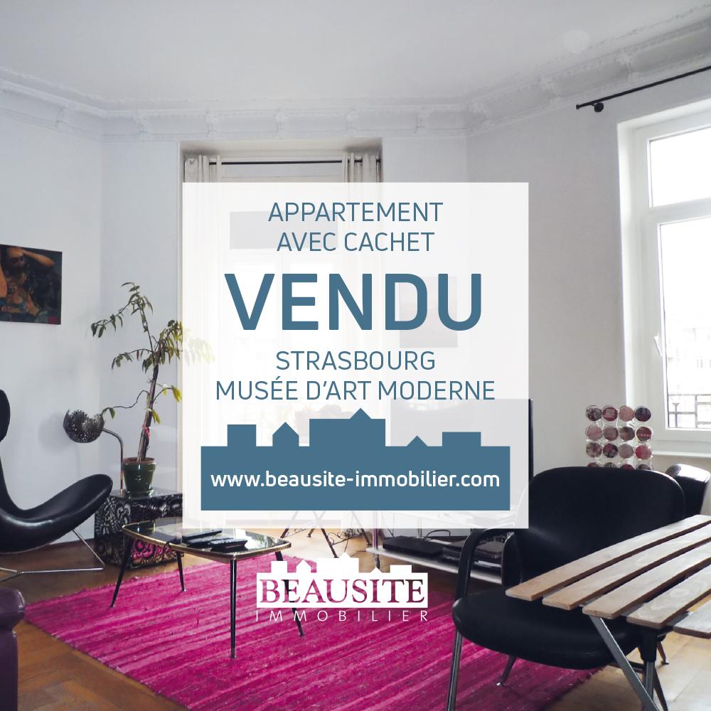 VENDU Spacieux 4P avec balcons - Musée d'Art Moderne - nos ventes - Beausite Immobilier 1