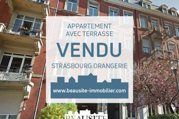 VENDU Superbe 5P - Strasbourg Golbery