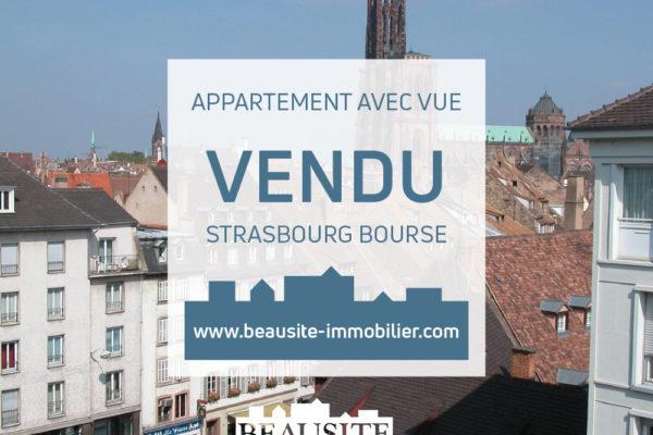 VENDU ! Lumineux 2/3P - Strasbourg Centre