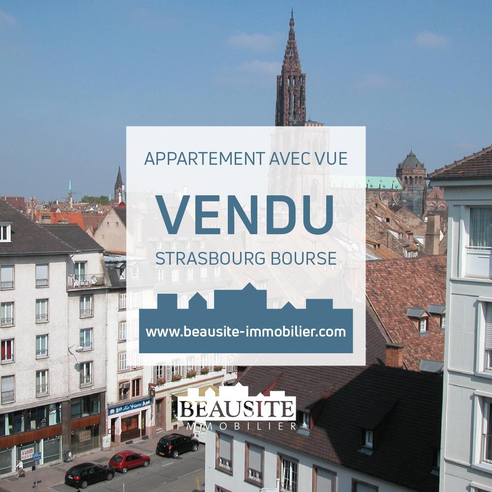 VENDU ! Lumineux 2/3P - Strasbourg Centre - nos ventes - Beausite Immobilier 1