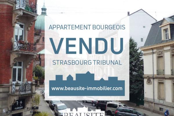 VENDU Charmant 4P avec balcon - Tribunal