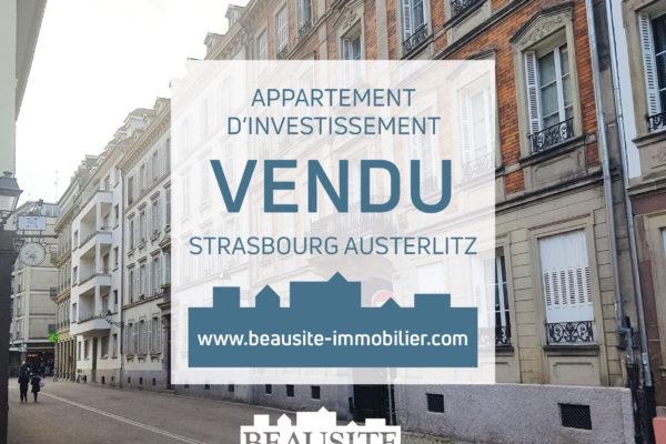 VENDU ! Charmant 2P - Strasbourg Austerlitz
