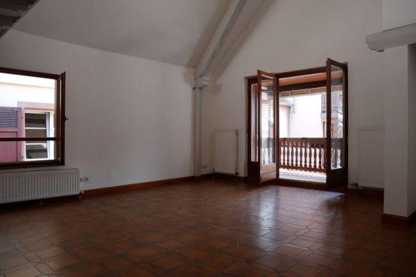 Spacieux 4 pièces en duplex avec balcon - Obernai centre / rue des Capucins